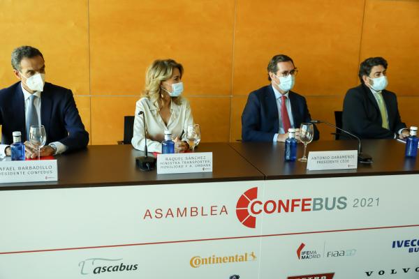"""Asamblea General de CONFEBUS """"El sector sigue precisando apoyo para superar la crisis del Covid-19 que le ha dejado un gran endeudamiento"""""""
